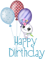 Happy Birthday By Little One Girl-dbqfct4 by TinaLouiseUk