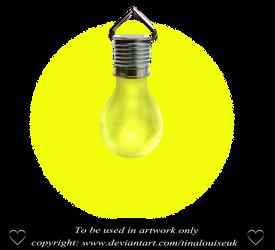 Yellow bulb by TinaLouiseUk