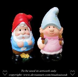Garden gnomes by TinaLouiseUk