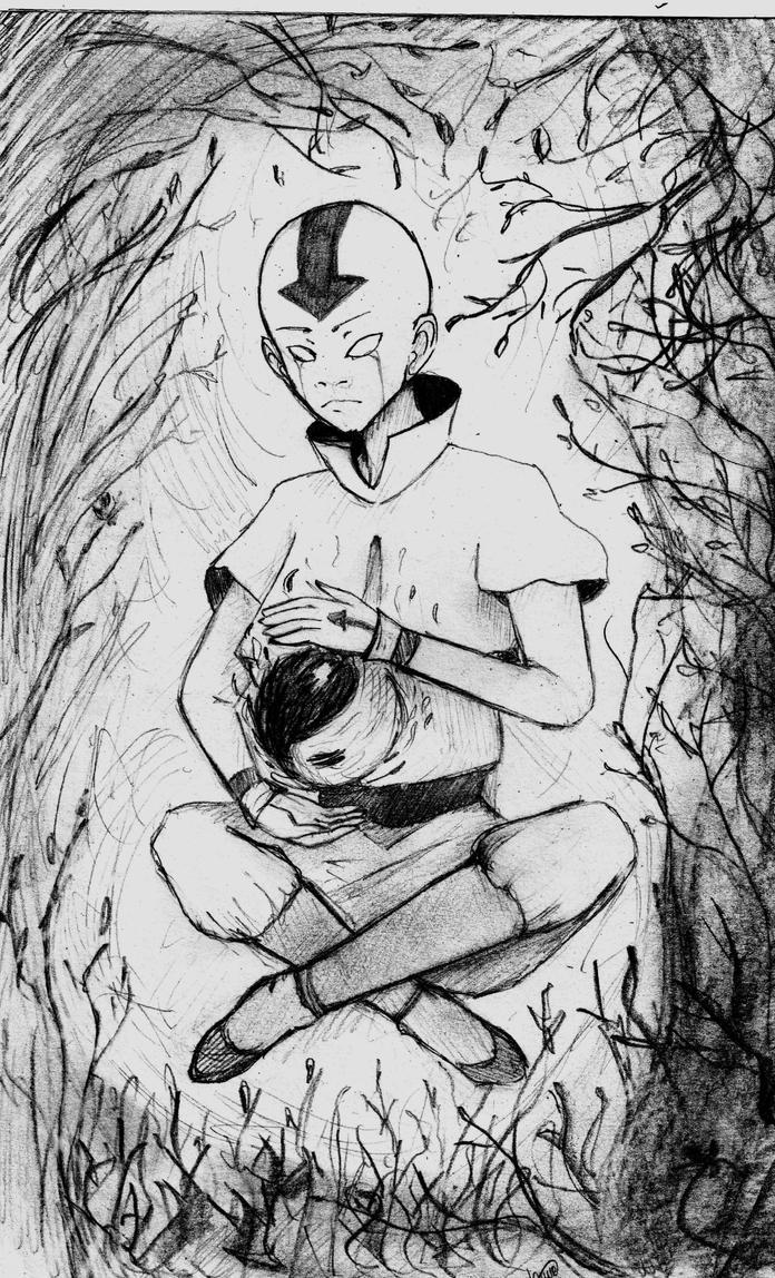 Aang by Kseni-chyan