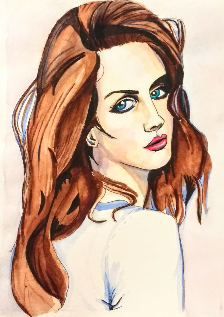 Lana Del Rey by DParkerEdwards