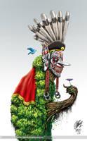 The Hudoq by gigaboltmanowar