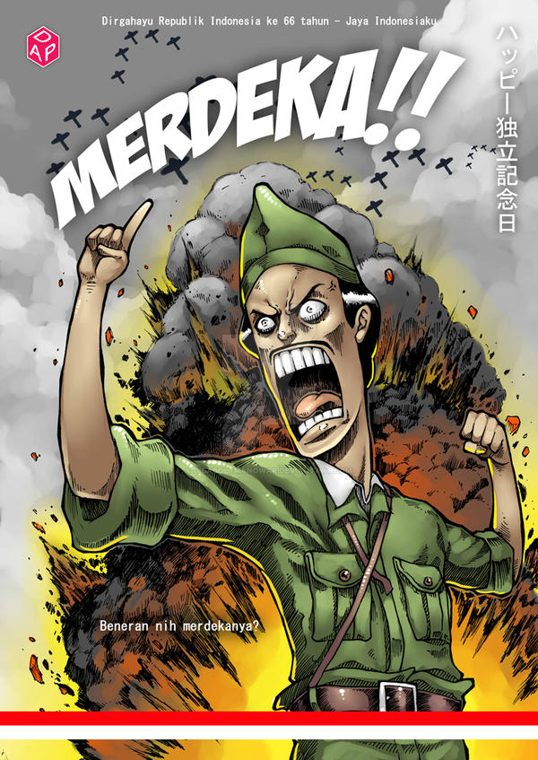 MERDEKA by gigaboltmanowar