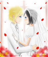 KH-RokuShion:Our Wedding by mo-nochrome