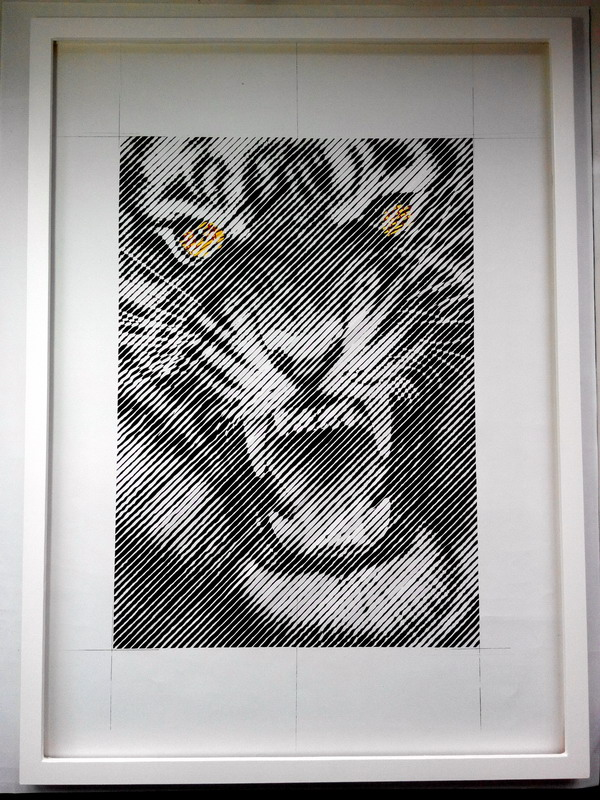 Paper Cutting- Tiger by paperJin
