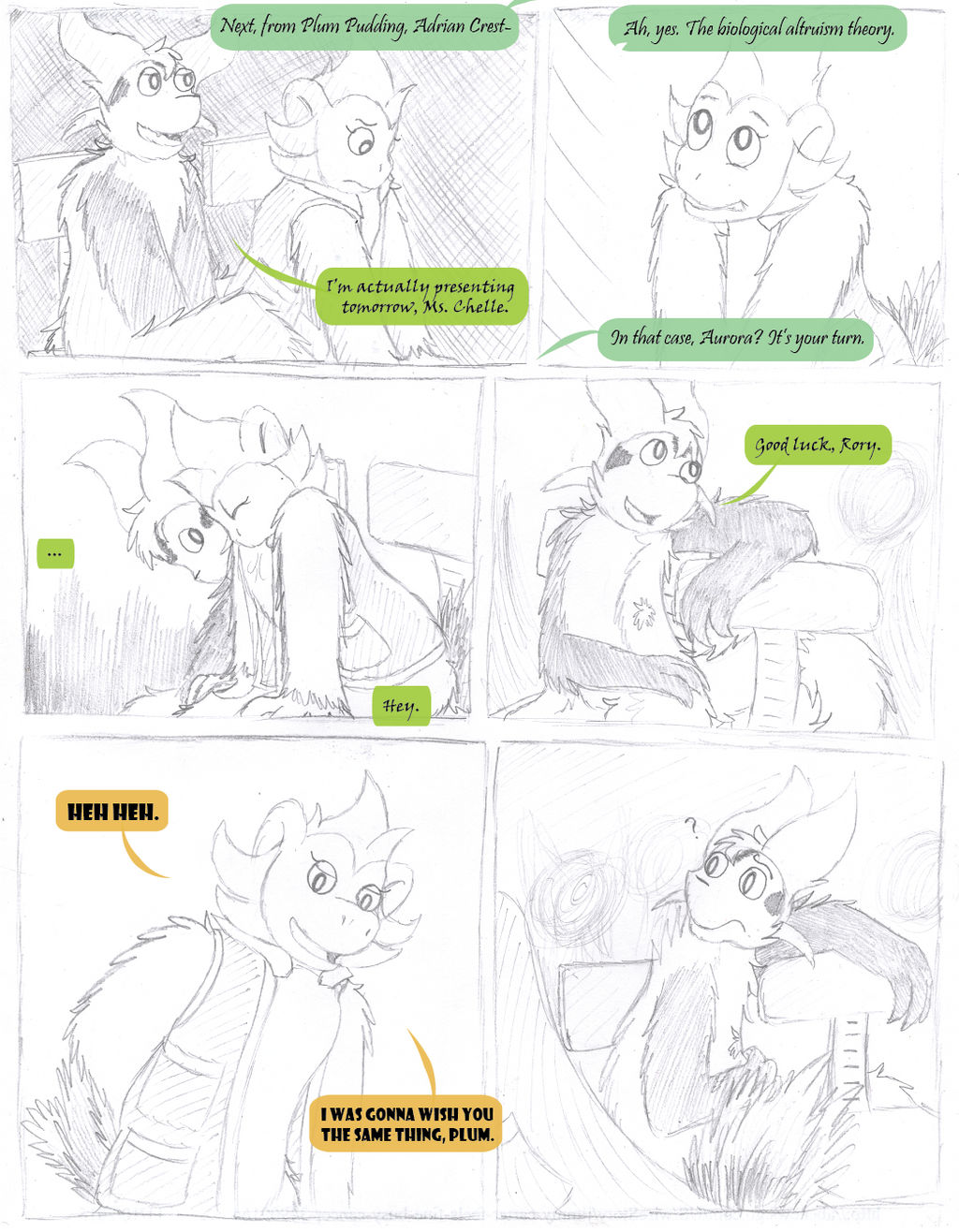 How to Restrain Your Chespin ~ Page 1 of 9