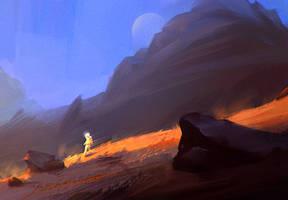 Mars Walking 01