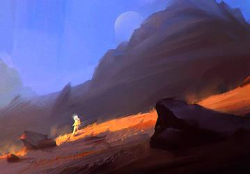 Mars Walking 01 by monsta87