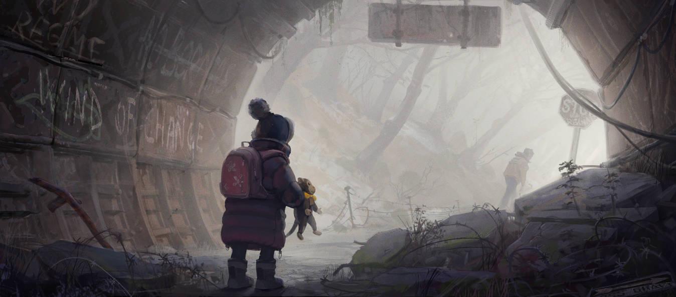 Escape by monsta87