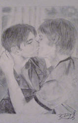 Brian and Justin- Queer as Folk by bibiherz