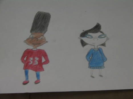 Phoebe and Gerald colored