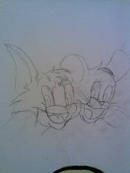 Tom and Jerry on my wall!