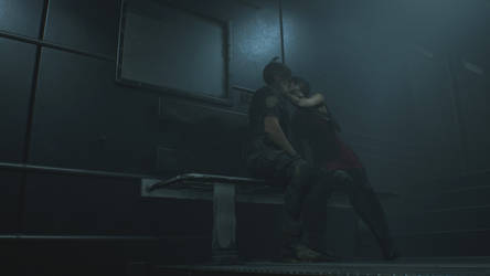 Resident Evil 2 Remake-Aeon-The Kiss by KymacFergus