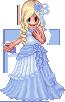 Chiffon Hibiscus Dress by NishiePoo