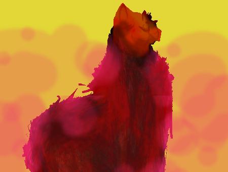 Glamour Llama by JoharaT