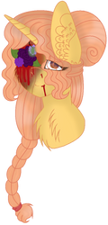 Beauty isnt Everything (Mild Blood FlowerGore) by MilkywayGalaxy23
