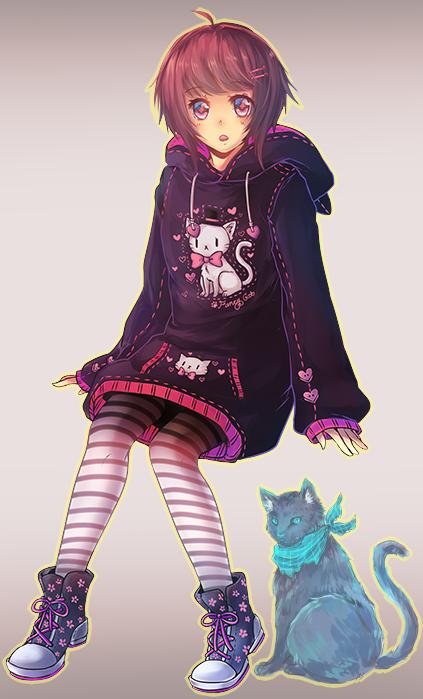 Meiri + Yuu by Neririn