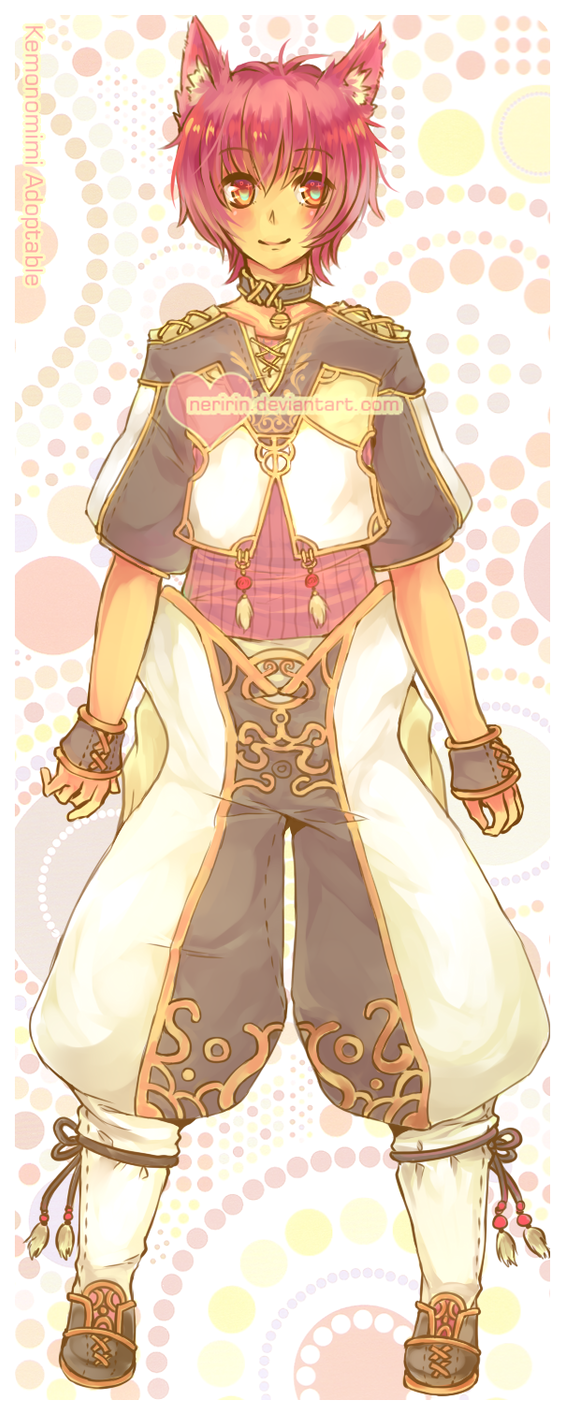 [CLOSED] Kemonomimi Auction Adoptable 01 by Neririn
