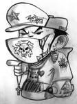 cartoon BBoy