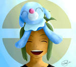 Hau and Popplio - Pokemon Sun / Moon