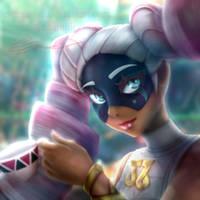 Twintelle - ARMS by Eremas-su
