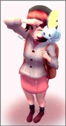 Pokemon Sword / Shield - Female Trainer by Eremas-su