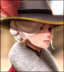 Socialite Ashe - Overwatch by Eremas-su