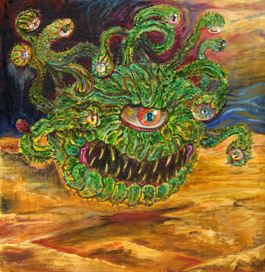 Opuntia Beholder by Draingored