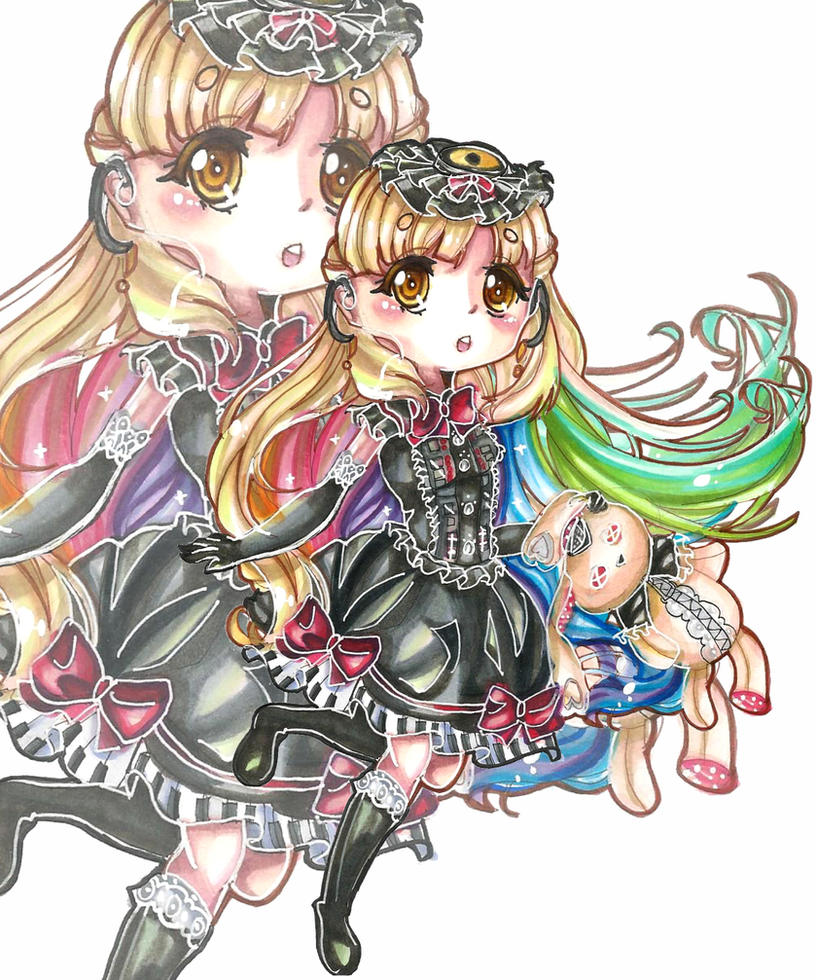 Vocaloid Mayu Chibi by HatsuneSnowMayu Vocaloid Chibi