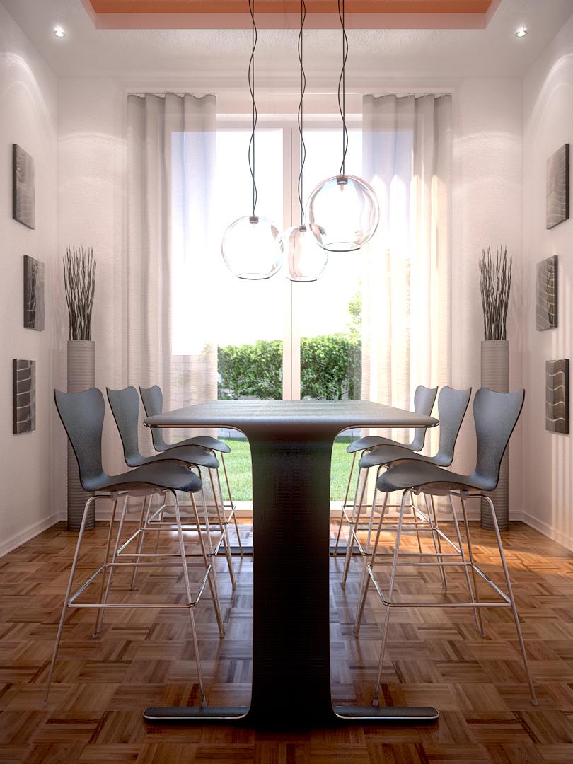 interior cinema 4d by razornl on deviantart. Black Bedroom Furniture Sets. Home Design Ideas