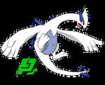 Pokemon Lengedario - Lugia