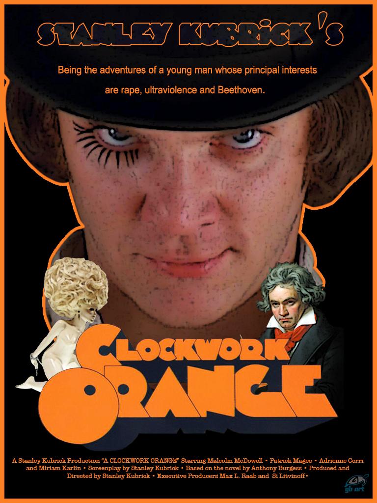 A Clockwork Orange Movie Poster by GB-ART3 on DeviantArt