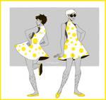 yellow dresses I guess