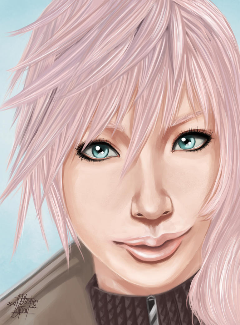 Final Fantasy XIII Lighting by LadyAtuna