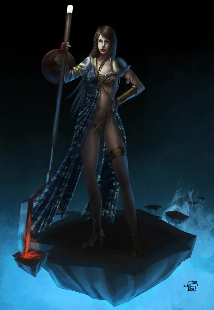 Warrior by Ge-mini