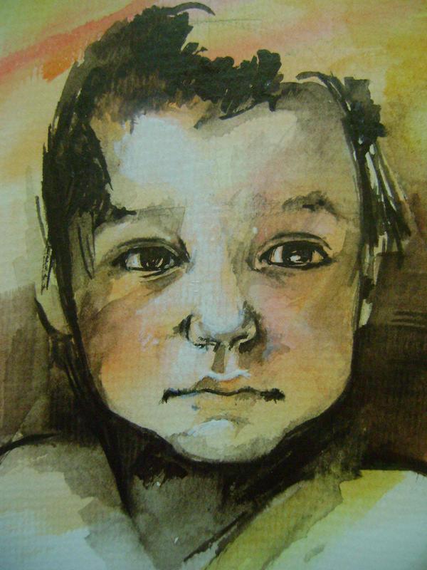 portret de copil by LumiLumi