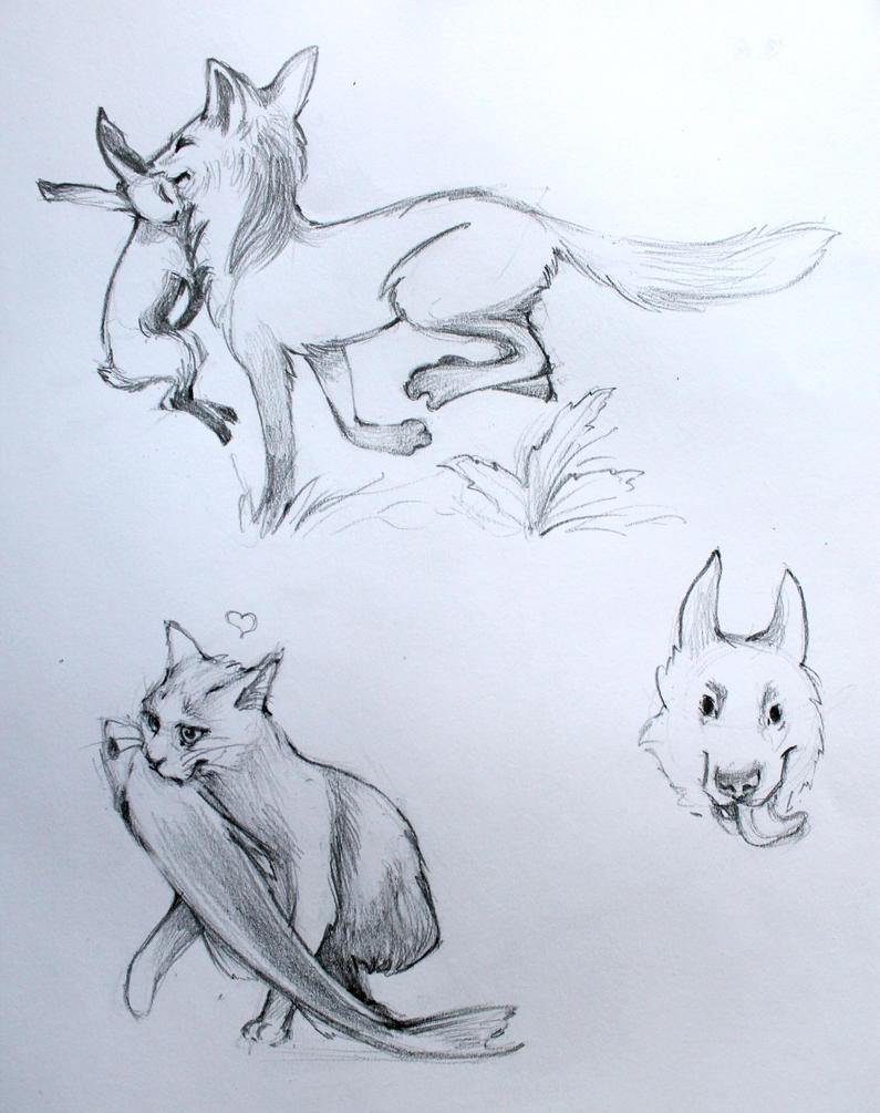 sketches by LumiLumi
