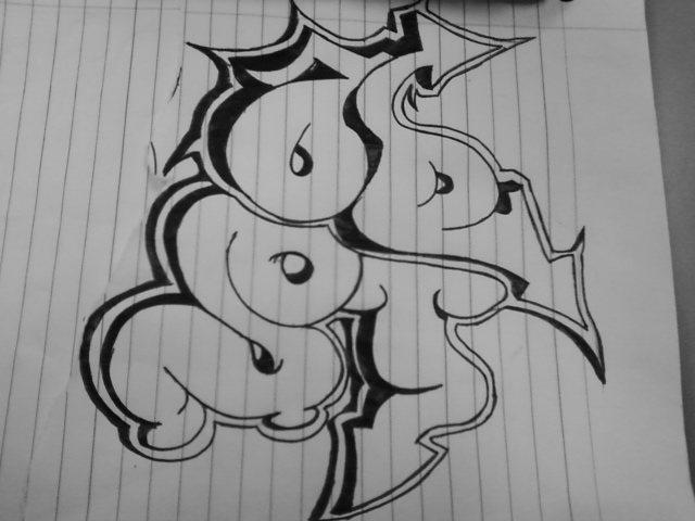 Tag-Graffiti by brokensilence616