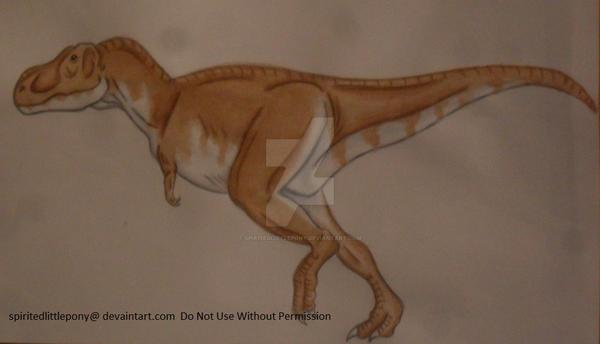 Tyrannosaurus rex by SpiritedLittlePony