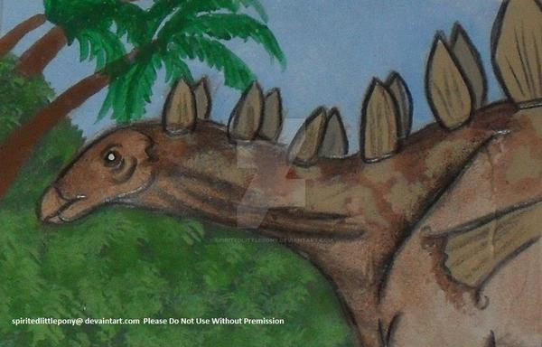 ATC: Tuojiangosaurus- Day 28 by SpiritedLittlePony