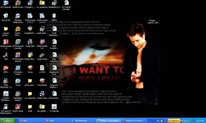 Mulder Desktop by Babeh-Fli