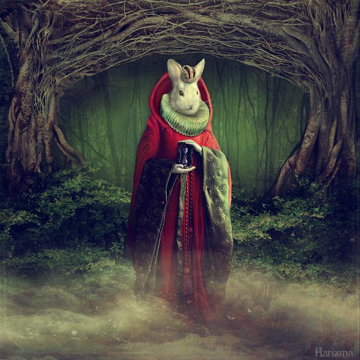 Rabbit King by HarizmaArt