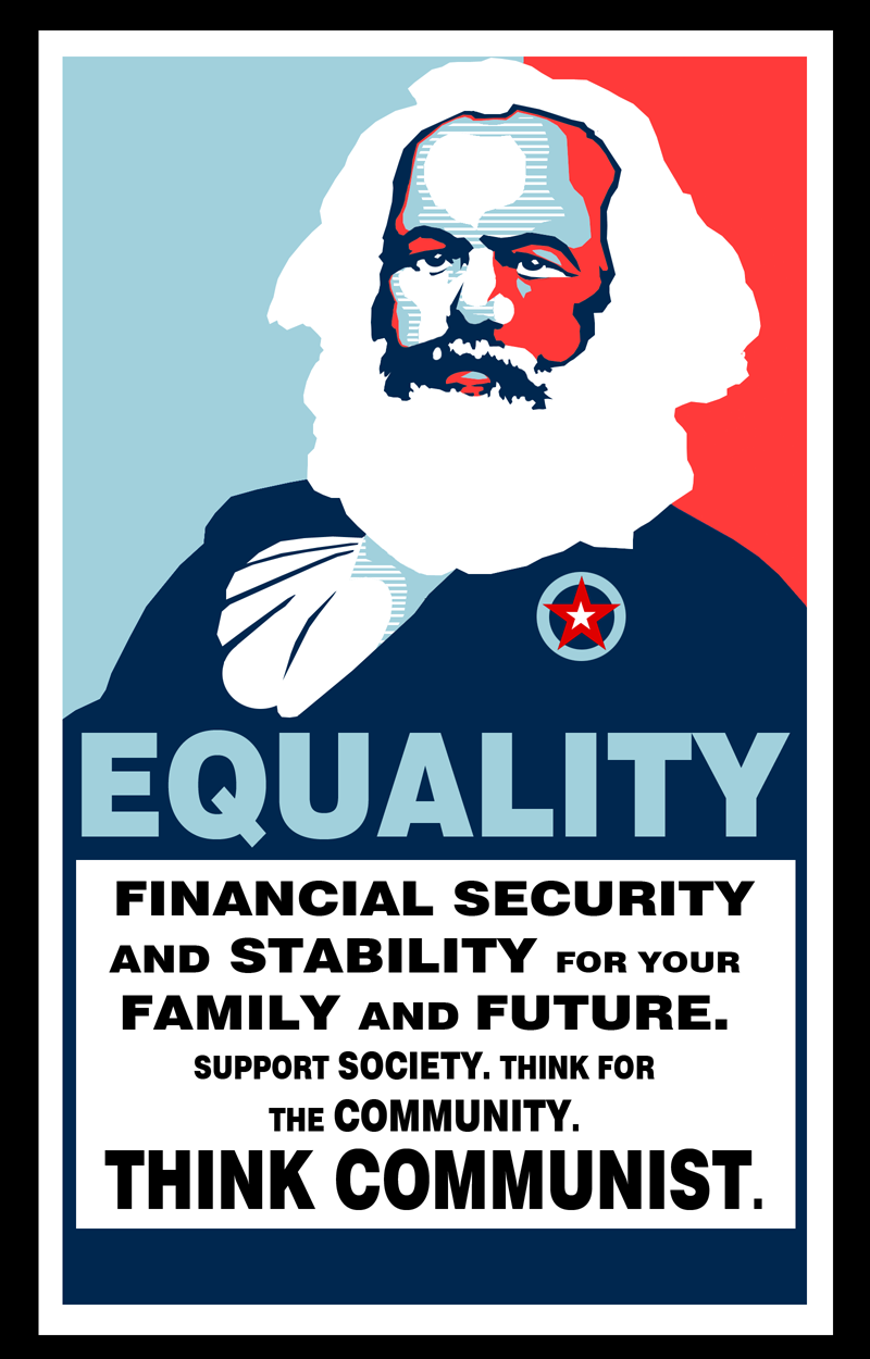 Karl Marx Poster by James-Haddix on DeviantArt