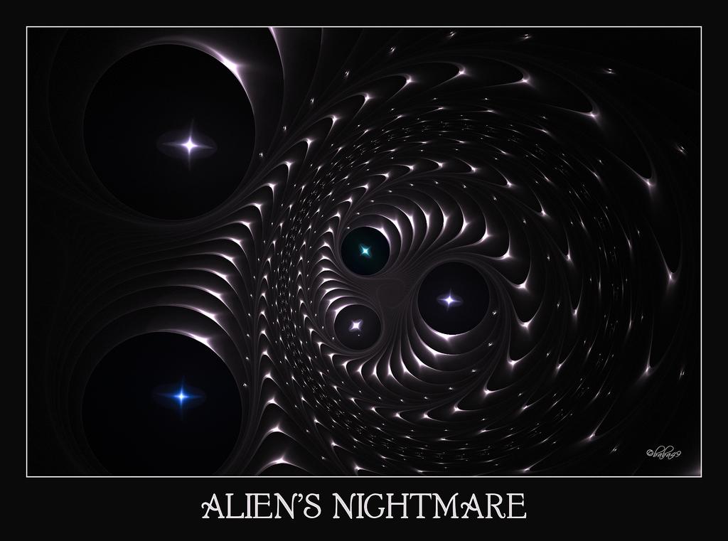 Alien's Nightmare by baba49