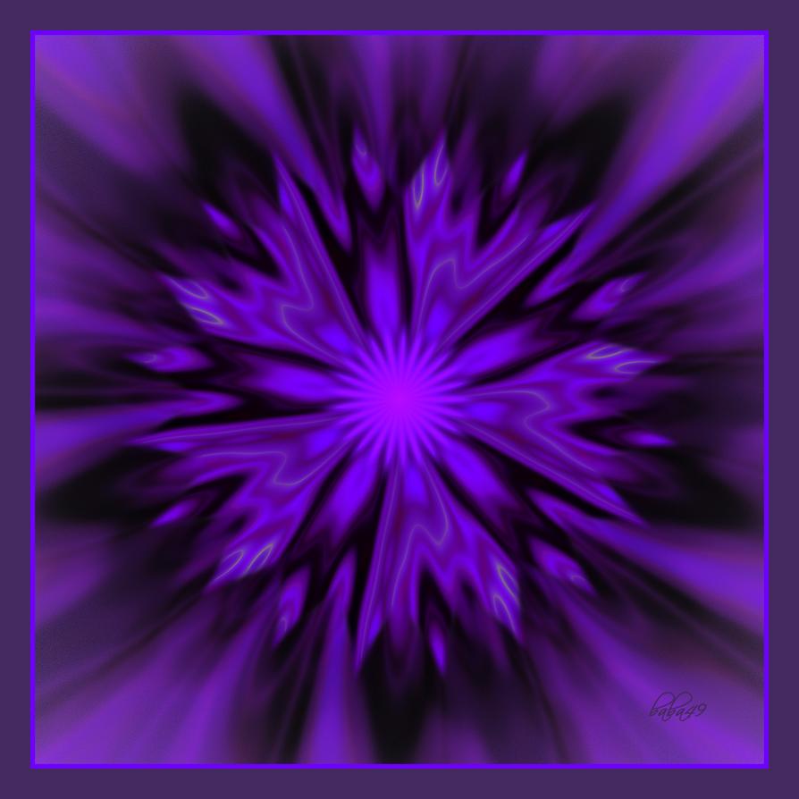 Purple Flower by baba49