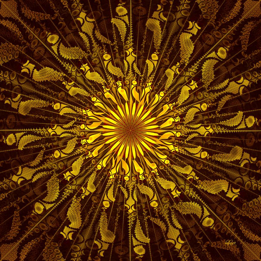 Fractal Sun by baba49