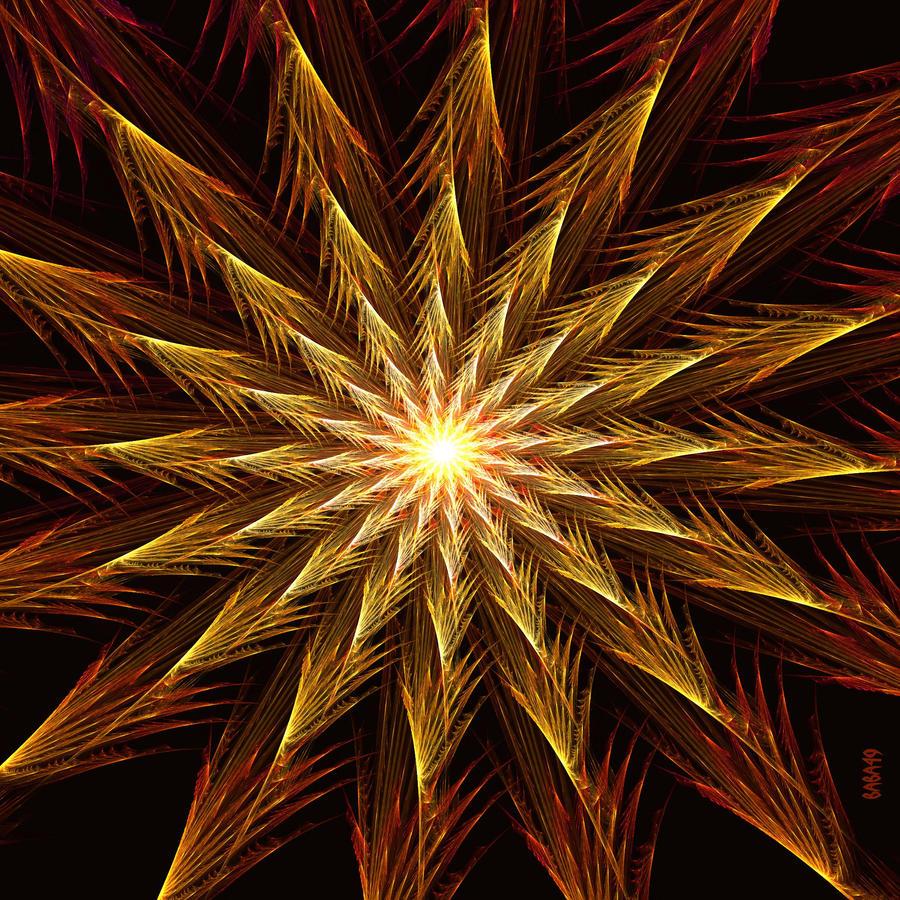Hyperbolic Star by baba49