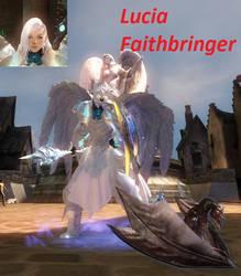 Lucia Faithbringer GW2 by SacuraShadow