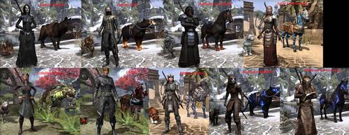 ESO Characters by SacuraShadow