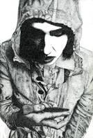 Marilyn Manson by maxturbochel